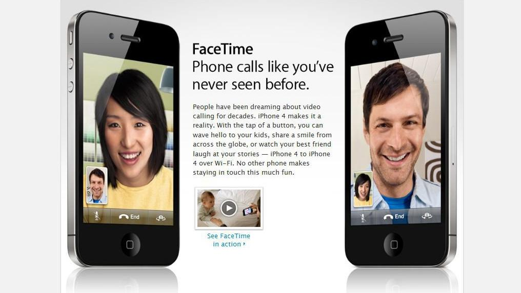 The iPhone 4's FaceTime feature appeals to phone sex operators