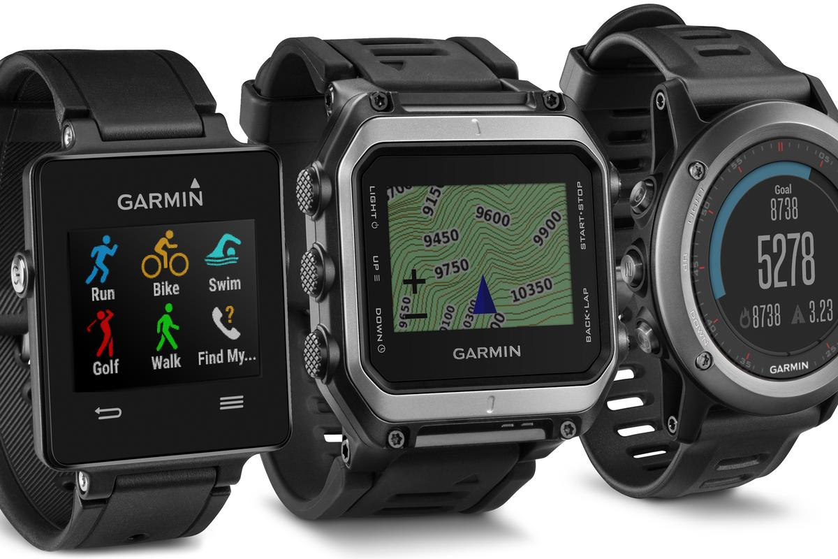 All of Garmin's new watches have an outdoors and fitness focus