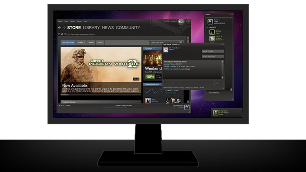 Digital distribution services like Steam are poised to overtake physical retail sales in the PC gaming market