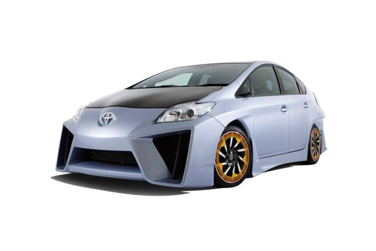 Toyota's Prius C&A Custom Concept vehicle