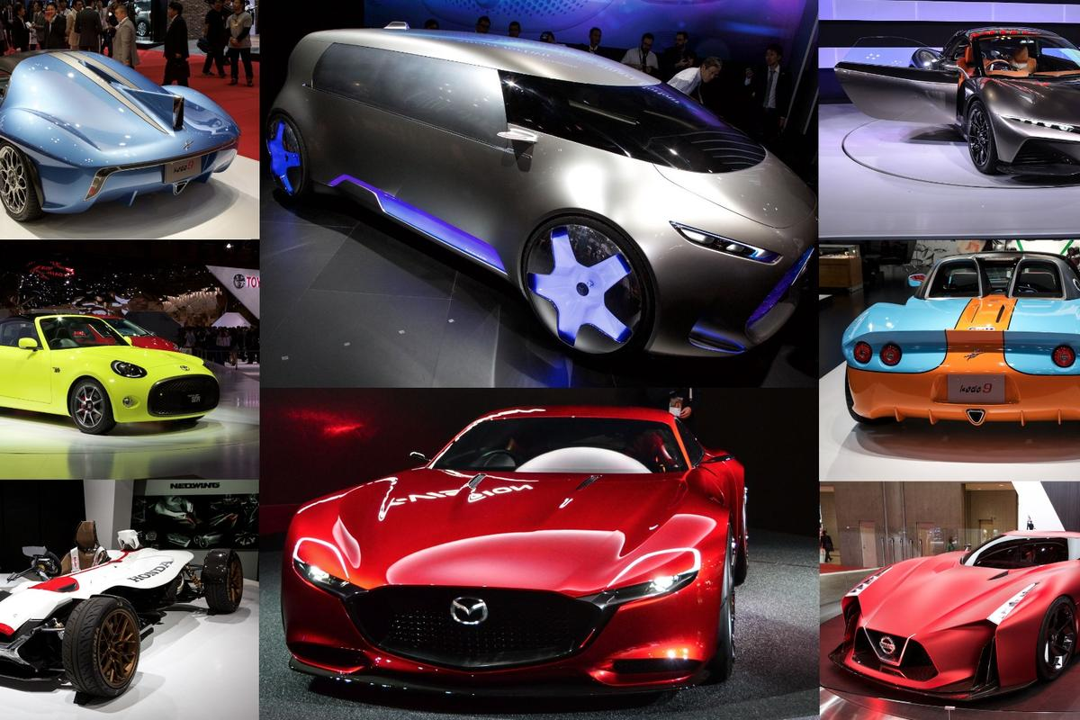 The best concepts and cars at the 2015 Tokyo Motor Show