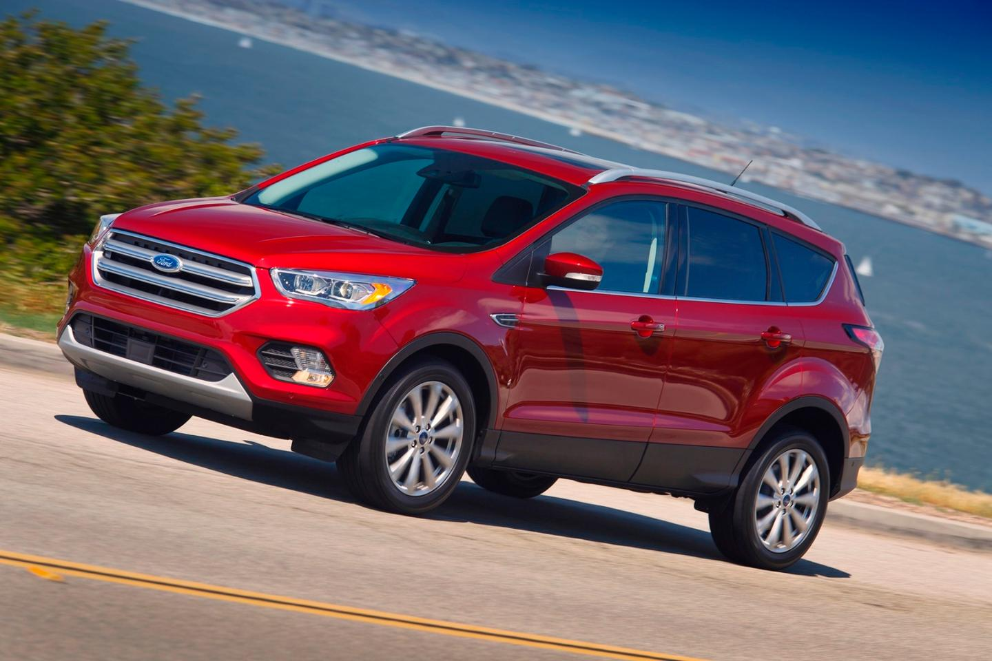 The 2017 Ford Escape is in showrooms from May