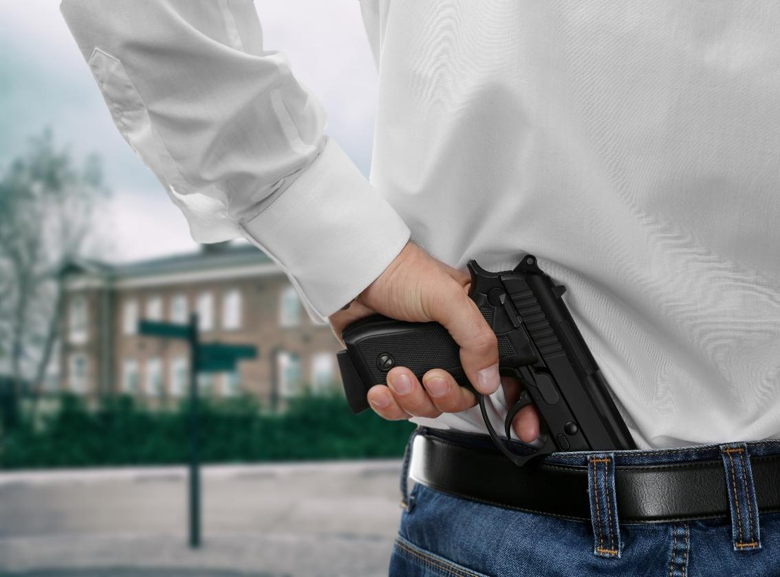 AIMS is intended to thwart shooters entering schools
