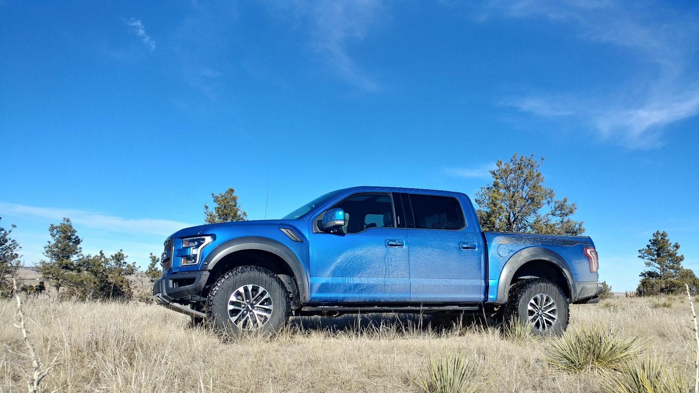 TheFord Raptor'sTrail Control system is like a next-generation crawl control, adding throttle management and braking at each wheel independently so that the driver can concentrate on the trail instead of power management