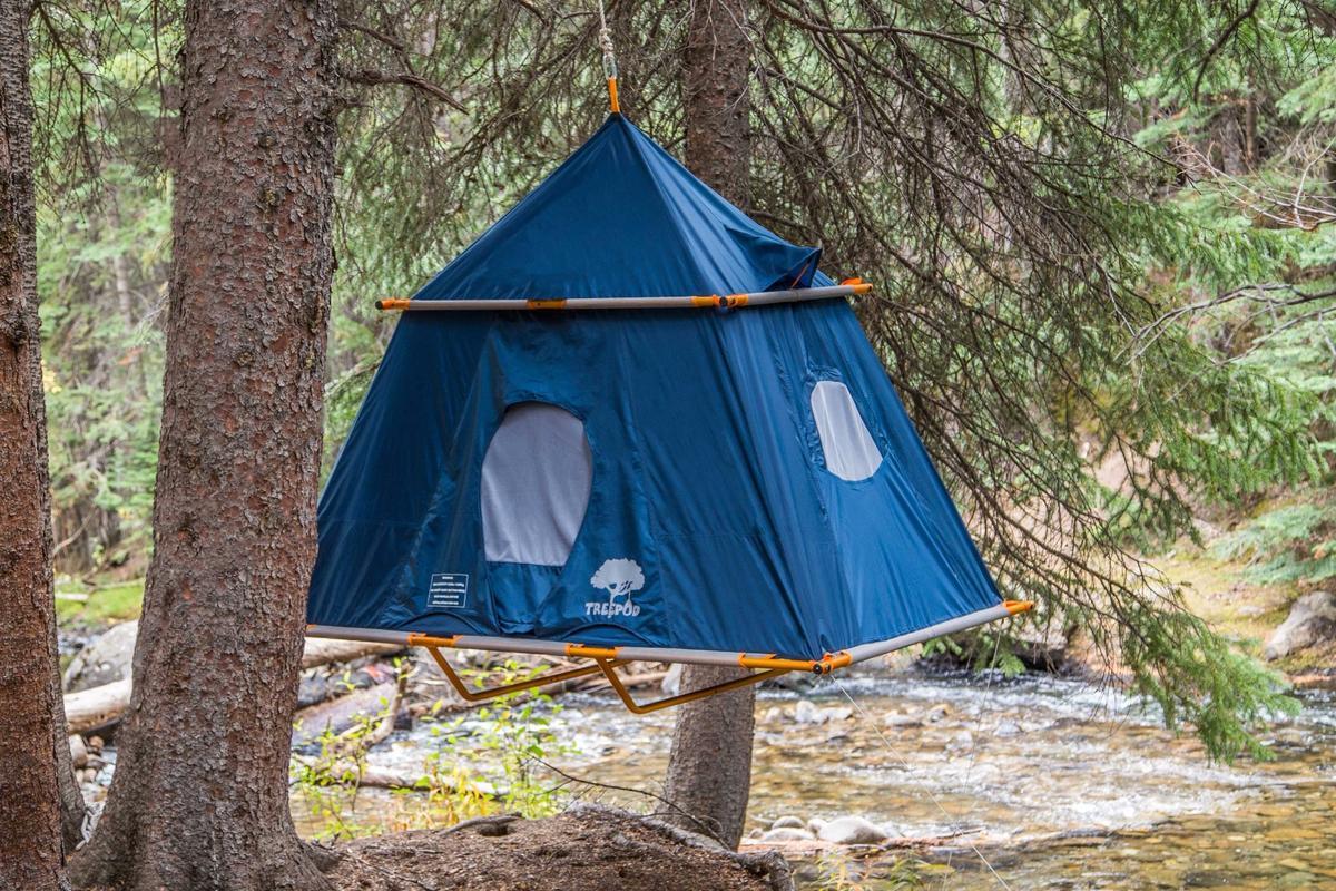 TreePod's Camper tent makes its debut at Outdoor Retailer Winter Market 2017