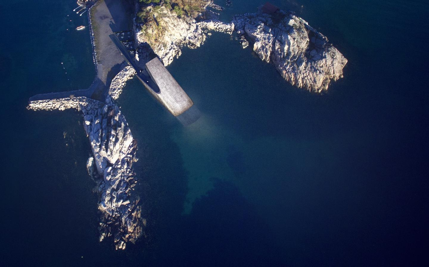 Under will belocated off the coast of the village of Båly, onNorway's southern tip
