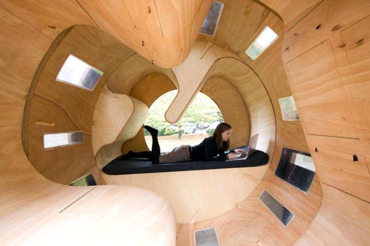 Roll it is definitely an out-of-the-box flexible housing solution (Image: University of Karlsruhe)