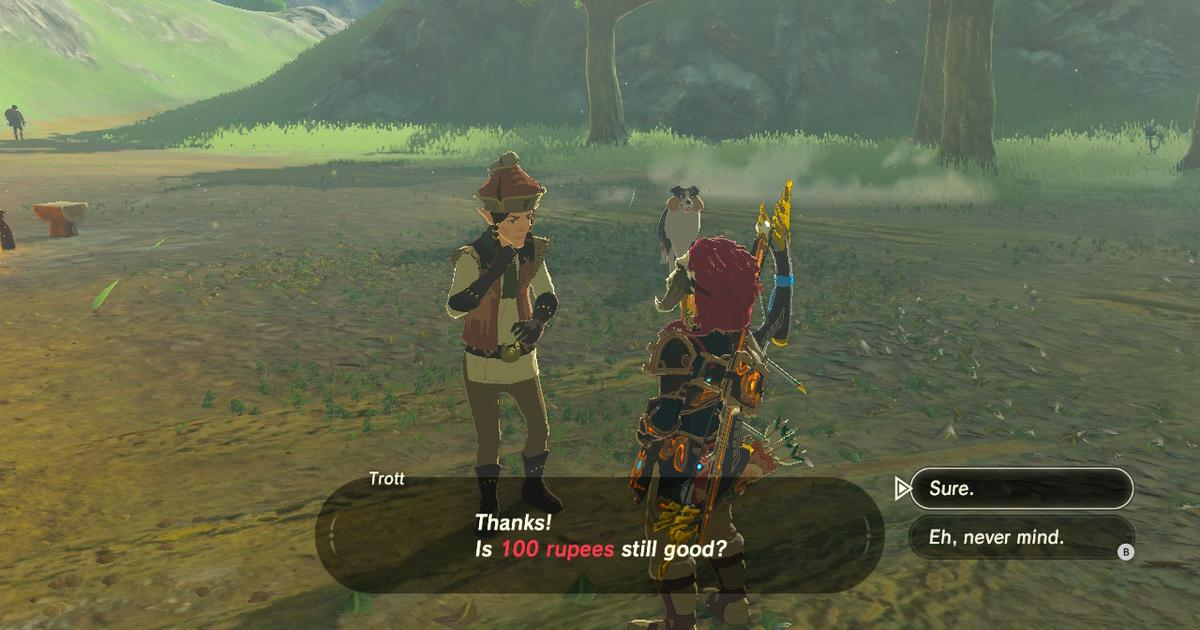 Easy Money How To Make Rupees Quickly In Breath Of The Wild