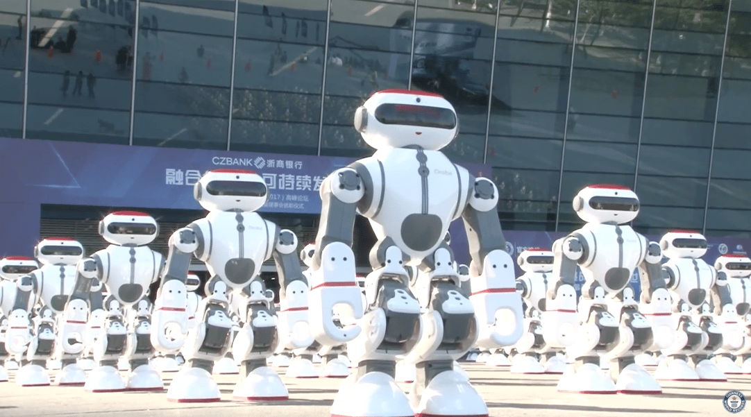 The record was set using a commercially available robot named 'Dobi'