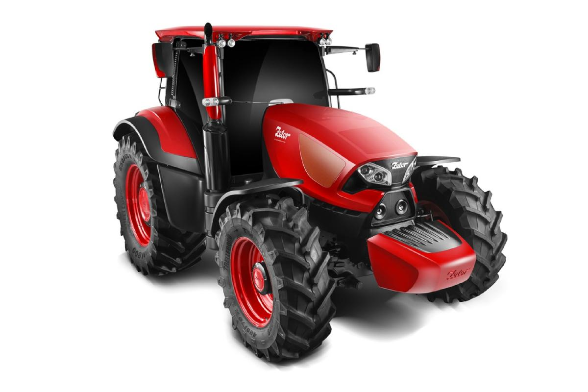 The Concept Zetor by Pininfarina brings a touch of style to the paddock
