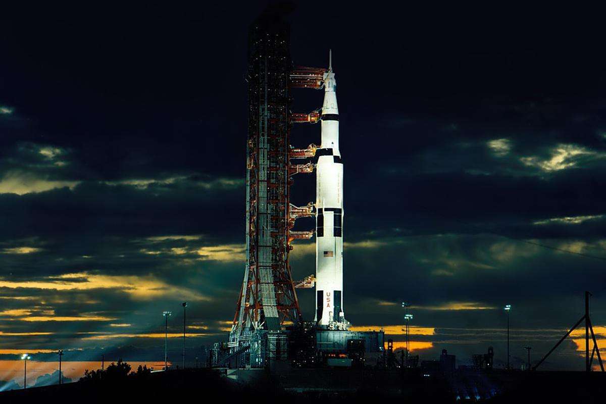 The Saturn V is the world's most powerful operational rocket