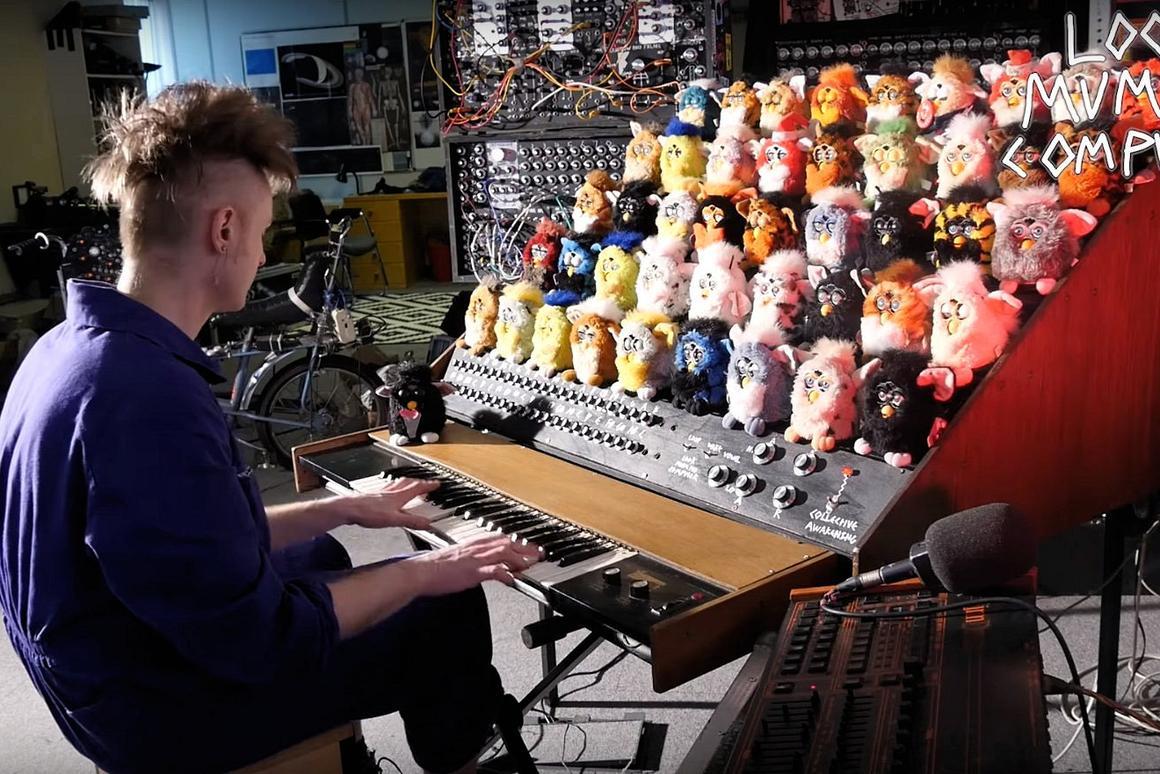 Cute or creepy? The Furby Organ from Look Mum No Computer