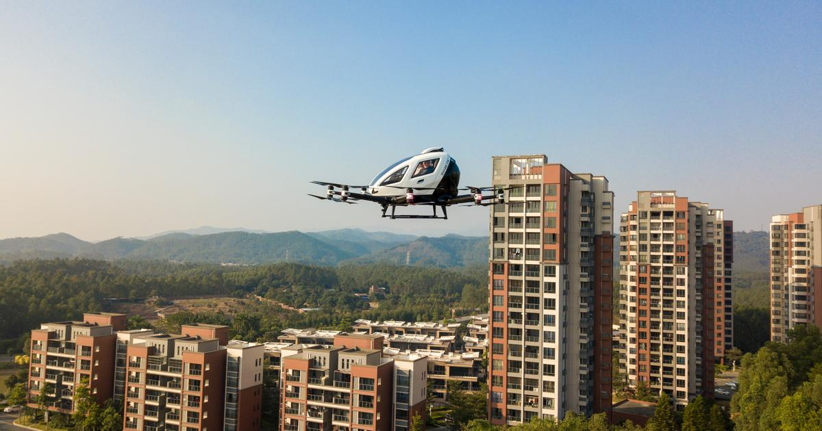 EHang begins aerial sightseeing trial at south China real estate project