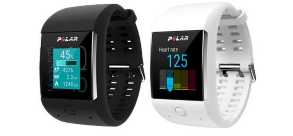The Polar M600 will be available in black or white