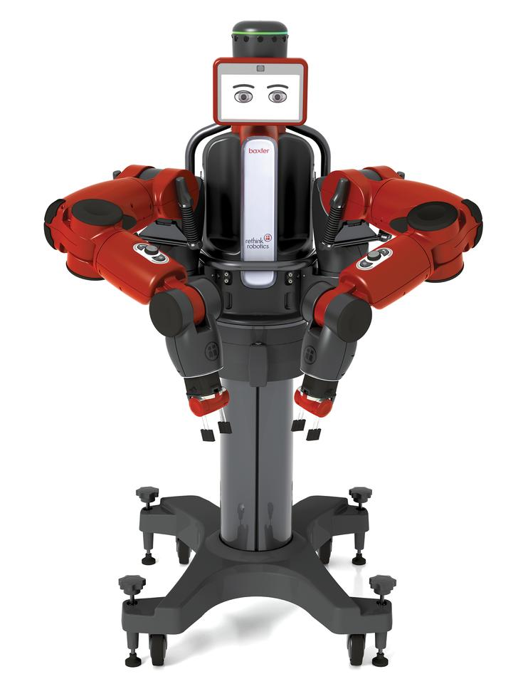 The Baxter robot has the ability to learn new tasks without coding