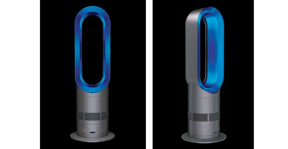 Dyson has unveiled a room-heating version of its Air Multiplier bladeless fan, named the Dyson Hot
