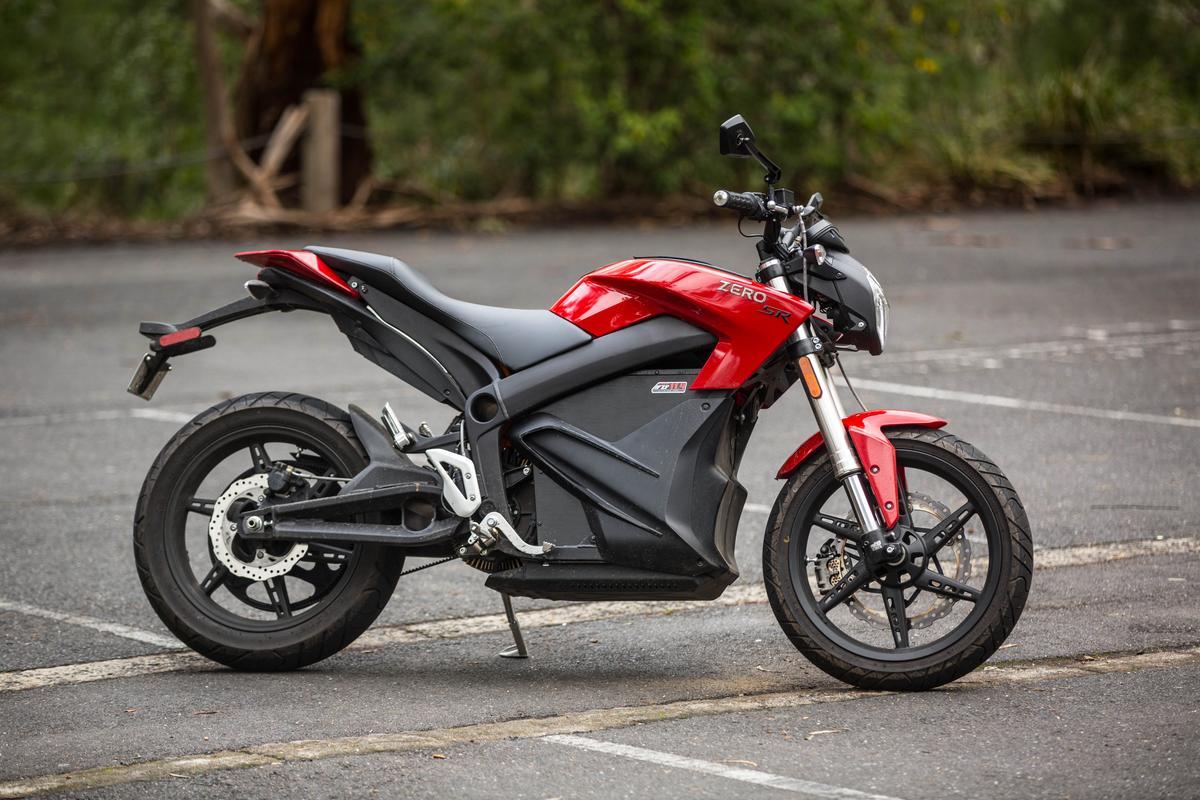 The 2014 Zero SR (Photo: Dave Abbott/Gizmag.com)
