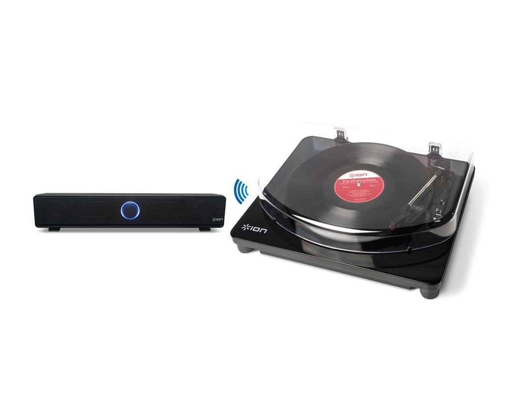 Ion Audio's new Air LP Bluetooth turntable