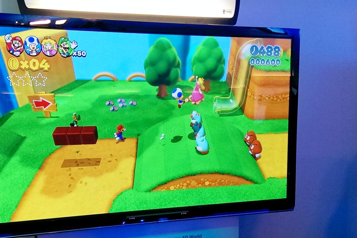 Gizmag goes hands-on with Nintendo's upcoming Super Mario 3D World