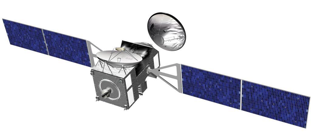 An artist's impression of the ESA/NASA ExoMars Trace Gas Orbiter (Image: ESA)