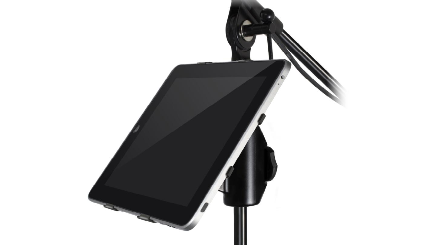 iKlip mic stand adapter for iPad