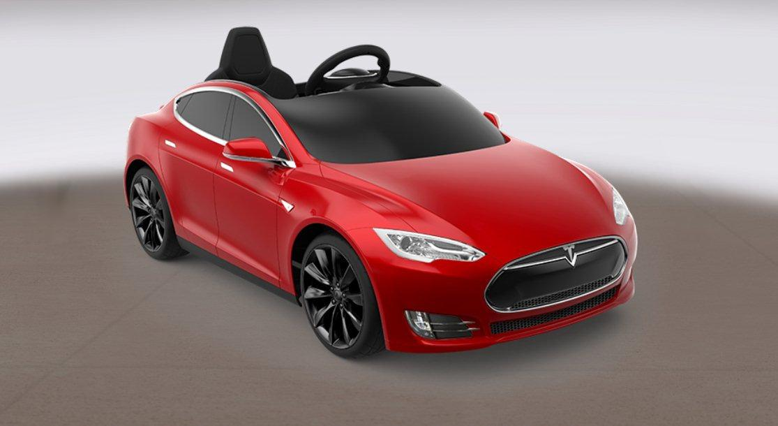 The Tesla Model S for Kids is due for release in May 2016