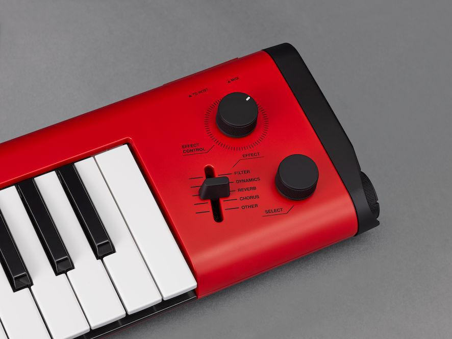 Yamaha reworks the keytar for players who want to wear their