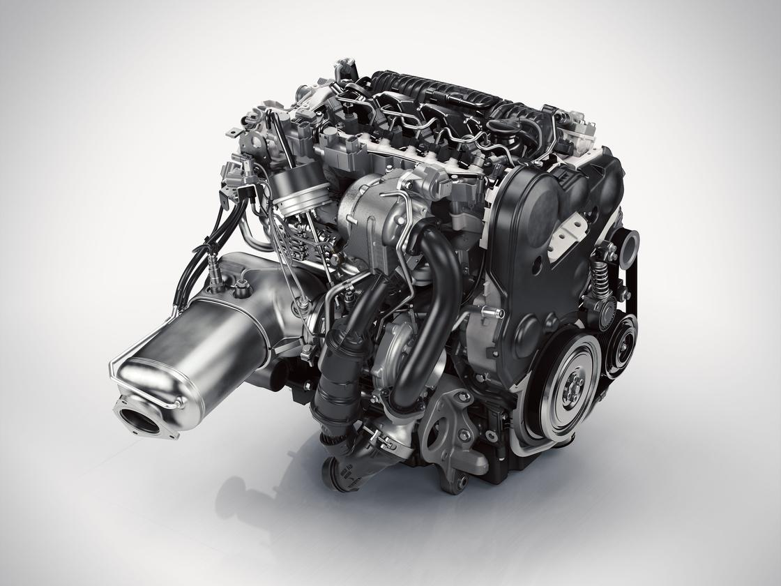 The Volvo D5 twin-turbo diesel engine