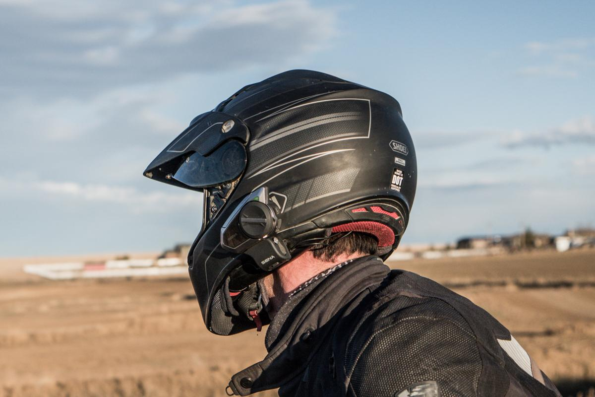 Sena's 50C and 50S Bluetooth mesh intercom systems clip onto your motorcycle helmet