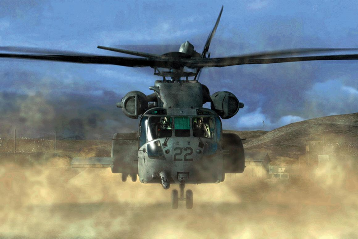 Sikorsky's new virtual reality center will be used to help identify design problems for the new CH-53K helicopter