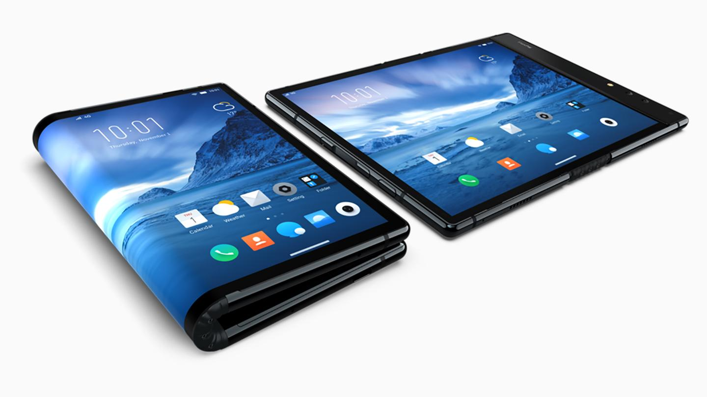The Royole FlexPai folds out to be a tablet, and folds over to be a phone