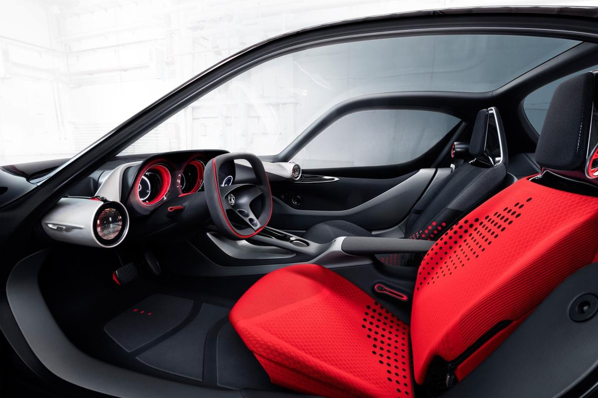 The GT Concept debuts at the 2016 Geneva Motor Show