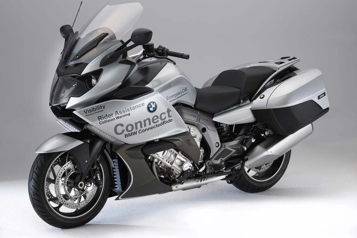 BMW's Advanced Safety Concept: moving towards a safer motorcycle