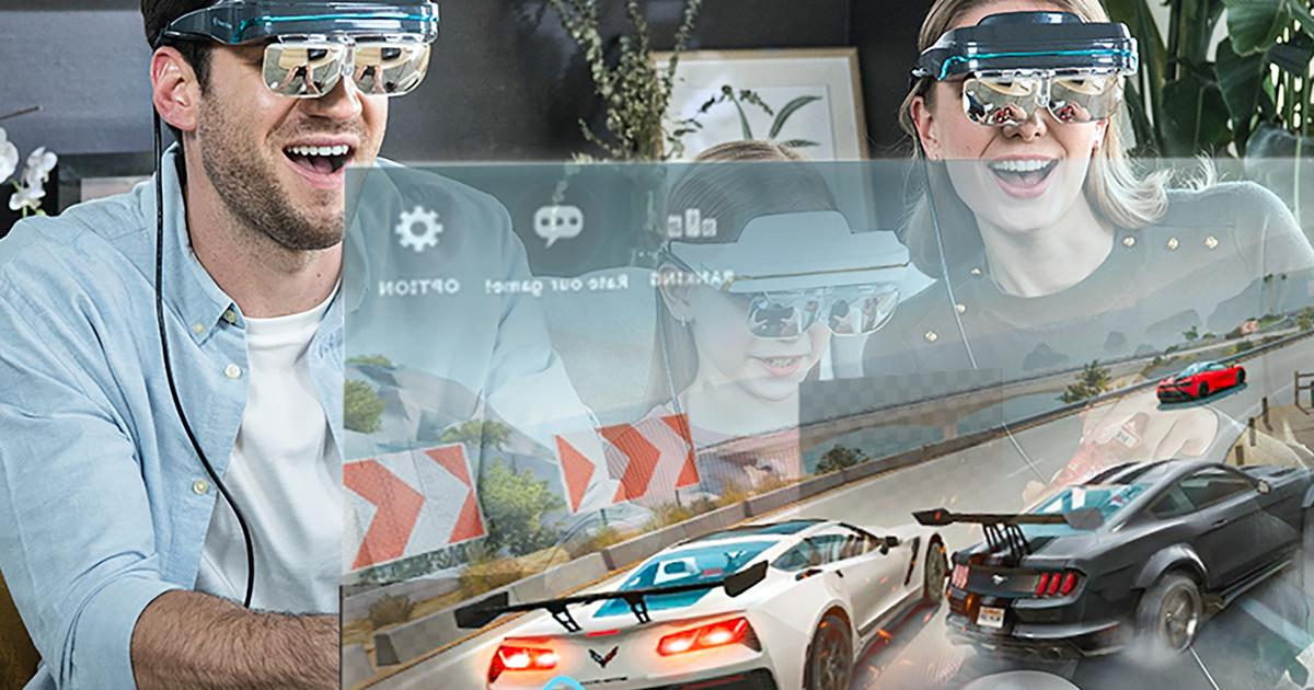 Augmented Reality: Tomorrows Tech Today, Envision The Future - cover