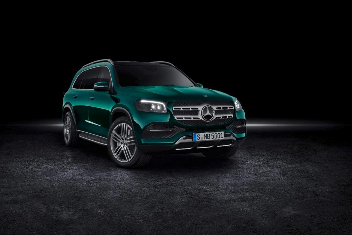 Mercedes' biggest and fanciest SUV just got bigger and fancier