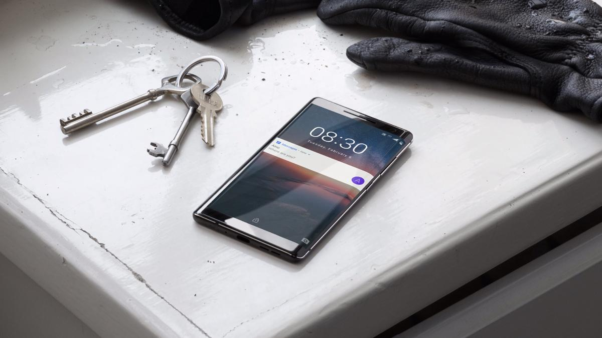 The Nokia 8 Sirocco leads the way for Nokia's new phones