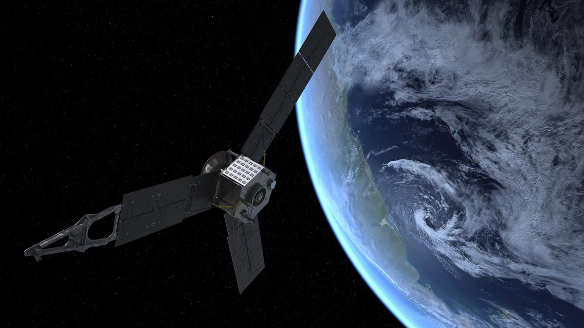 Artist's concept of the Juno flyby (Image: NASA)