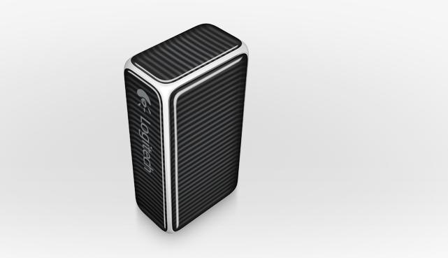 The Logitech Cube: definitely not a cube