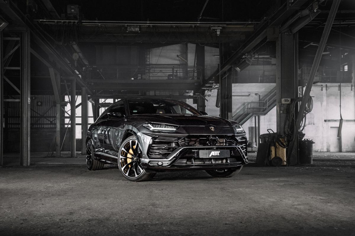 ABT's power upgrade chip boosts the Urus Super-SUV up to 710 horses and 910 Nm