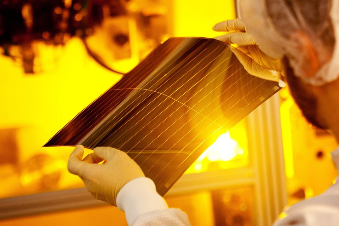 These organic photovoltaic cells set a new record for turning sunlight to electricity