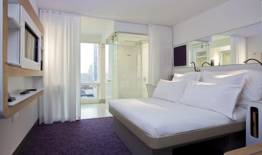 NYC Premium Cabin at Daylight (Image: Yotel)