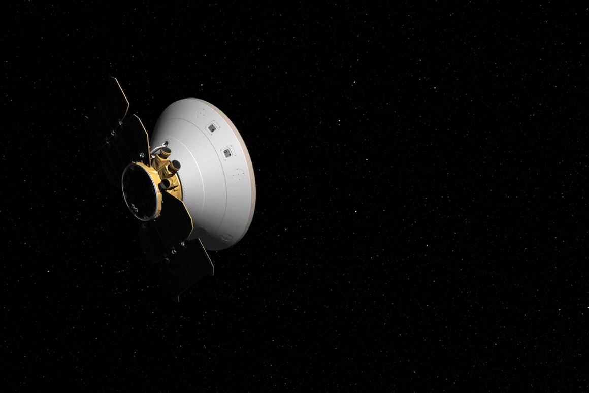 Artist's concept of the InSight cruise stage
