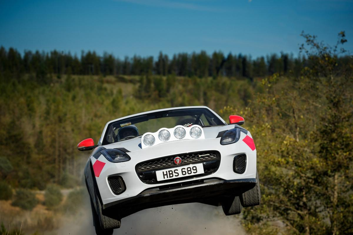 Jaguar gets off-camber with its F-Type Convertible rally car