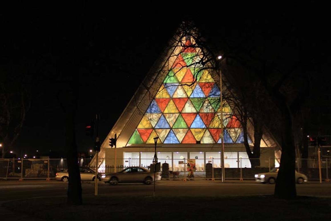 Christchurch's new temporary cathedral (Photo: Shigeru Ban Architects)