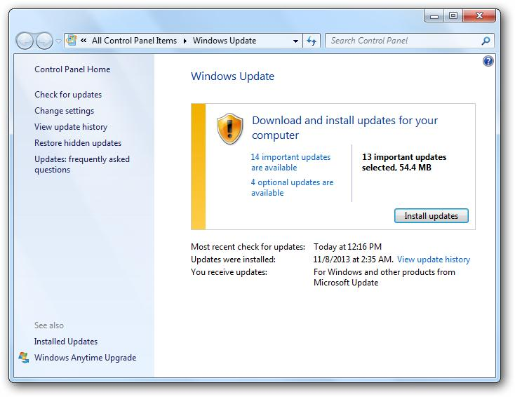 Updating from windows 7 to 8.1 updating facebook app