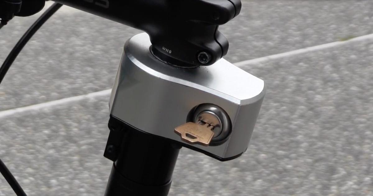 The Quick Stop Bike Lock is now on Kickstarter