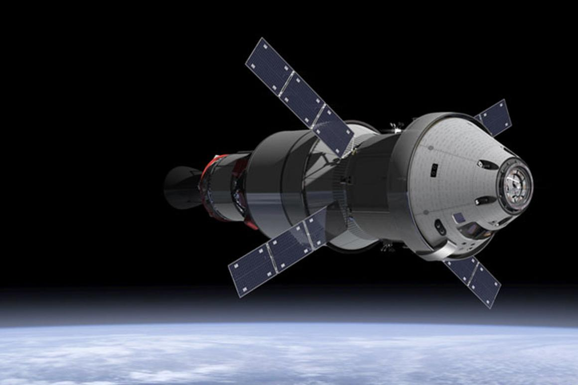 Lockheed has completed construction of the Orion spacecraftthat will circumnavigate the Moon