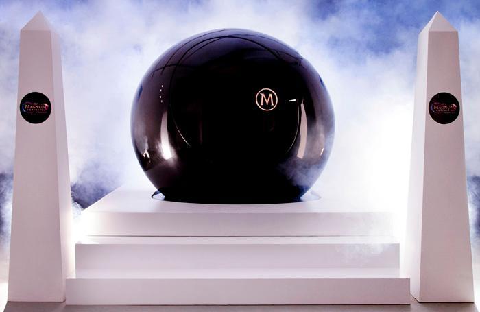 The Magnum Infinity Pleasure Pod is a bio-reactive sphere (Photo: Jotta)