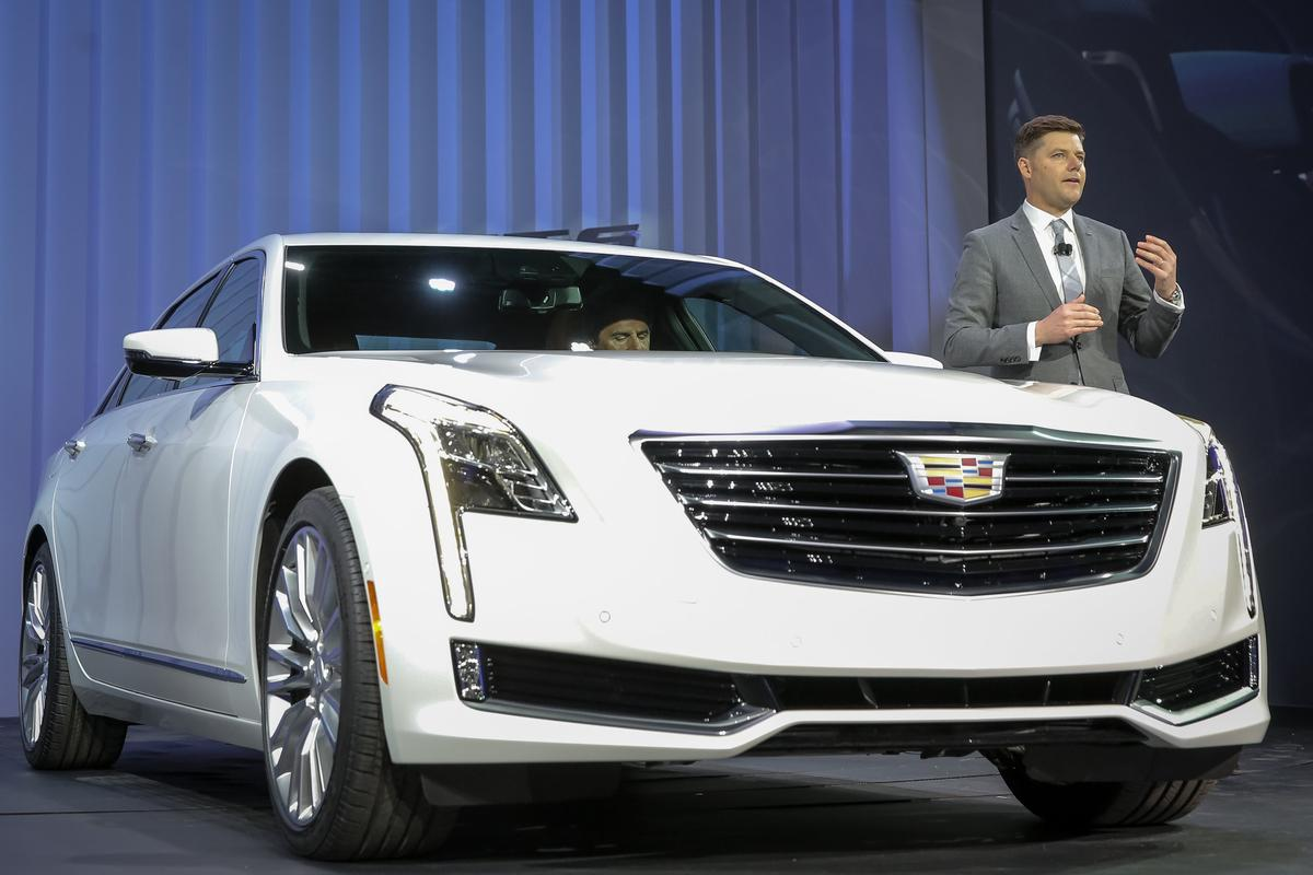 Cadillac CT6 at the New York Auto Show