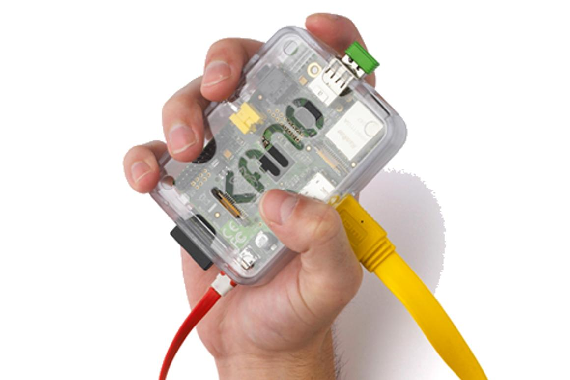 The Kano computer kit makes learning programming concepts painless (Photo: Kano)